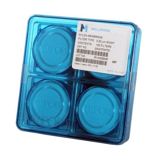 Milliporesigma Gnwp04700 Plain White Nylon Membrane Filter  Hydrophilic  0