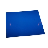 CapitolBrand® Cleanroom CR1040-6 Tacky Mats, 26 x 45in, Blue, 30 Sheets/Mat, 4 Mats/Case