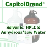 CapitolBrand® HPLC Solvents & Anhydrous Solvents