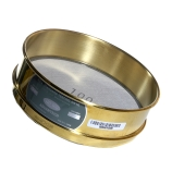 Advantech 100BS8F ASTM Brass 8-Inch Full Height Test Sieve with Stainless Steel Wire Mesh Size: #100, ASTM E 11 Certified