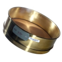 Advantech 12-Inch ASTM Brass Test Sieves, Full Height & Brass Mesh, ASTM E 11 Certified
