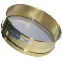 Advantech 12-Inch ASTM Brass Test Sieves, Full Height & Stainless Mesh, ASTM E 11 Certified