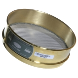 Advantech 18BS8F ASTM Brass 8-Inch Full Height Test Sieve with Stainless Steel Wire Mesh Size: #18, ASTM E 11 Certified