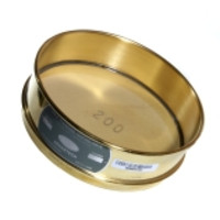 Advantech 8-Inch ASTM Brass Test Sieves, Full Height & Brass Mesh, ASTM E 11 Certified