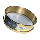 Advantech 635BS8F ASTM Brass 8-Inch Full Height Test Sieve with Stainless Steel Wire Mesh Size: #635, ASTM E 11 Certified