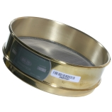 Advantech 25BS8F ASTM Brass 8-Inch Full Height Test Sieve with Stainless Steel Wire Mesh Size: #25, ASTM E 11 Certified