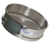 Advantech 8-Inch ASTM Stainless Steel Test Sieves, Full Height & Stainless Mesh, ASTM E 11 Certified