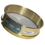 Advantech 45BS8F ASTM Brass 8-Inch Full Height Test Sieve with Stainless Steel Wire Mesh Size: #45, ASTM E 11 Certified
