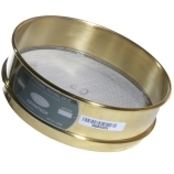 Advantech 60BS8F ASTM Brass 8-Inch Full Height Test Sieve with Stainless Steel Wire Mesh Size: #60, ASTM E 11 Certified