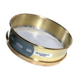 Advantech 70BS8F ASTM Brass 8-Inch Full Height Test Sieve with Stainless Steel Wire Mesh Size: #70, ASTM E 11 Certified