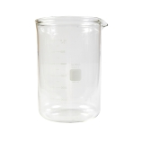 Corning® 1003-4L PYREX® 4L Low Form Heavy Duty Griffin Beaker, Double Scale, Graduated