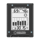 Control Company 1870| Traceable® Digital Barometer Module, Range: 32 to 131°F; 0 to 55°C, Relative Humidity Range: 25 to 95%, Dimensions: 4 x 3 x 1-Inch