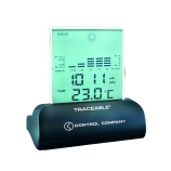 Control Company 4245 | Traceable® Workstation Digital Barometer, NIST Traceable, Range: 23.62 to 31.01-Inches (Hg); 800 to 1050 mbar, Range: 15 to 158°F; -9.5 to 70°C, Dimensions: 4 x 4 x 2-1/4-Inch