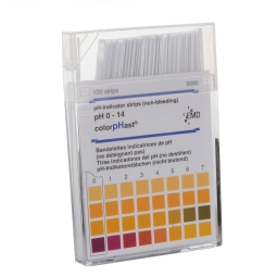 MilliporeSigma 1.09535.0001 ColorpHast pH Test Strips, 0-14 (100 Strips/Box) / 6 Boxes/Case