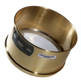 Advantech 635BS8W4 ASTM Brass Deep Wash 8-Inch Test Sieve with Stainless Steel Wire Mesh Size: #635, Depth: 4-Inch, ASTM E 11 Certified