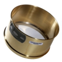 Advantech 8-Inch Brass Deep Wash Test Sieves, 4-Inch Depth, ASTM E 11 Certified