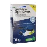Bausch And Lomb® 8574GM Sight Savers® Pre-Moistened Lens Cleaning Tissues, Individually Wrapped, 5 x 8-Inches