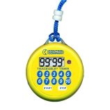 Control Company 5036 | Traceable® Water Resistant, Digital Flashing Timer, Range: 100 Minutes, Dimensions: 3-Inch Diameter x 1/2-Inch Depth