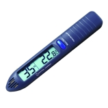 Control Company 4093 | Traceable® Digital Hygrometer & Thermometer Pen with Memory Recall, RH Range: 20 to 95%, Range: 32.0 to 122.0°F; 0.0 to 50.0°C, Dimensions: 5-1/2 x 7/8 x 2/3-Inch