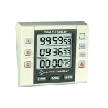 Control Company 5000 | Traceable® Three-Channel / Triple Display Digital Timer with Alarm, Timing Range: 100 Hours, Dimensions: 3-1/4 x 3 x 1-Inch
