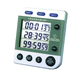 Control Company 5008 | Traceable® Three-Line Alarm Timer, Range: 100 Hours, Dimensions: 2 x 3-1/4 x 1/2-Inch