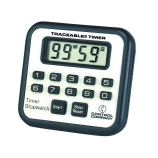 Control Company 5020 | Traceable® Jumbo Display Mini-Alarm Digital Timer with Stopwatch & Count-Up/Count-Down Feature, Range: 100 Minutes, Dimensions: 2-1/2 x 2-1/4 x 1/2-Inch