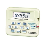 Control Company 5040 | Traceable® Five-Channel Digital Timer with Stopwatch & Clock, Range: 100 Hours, Dimensions: 2-3/4 x 2-3/8 x 5/8-Inch