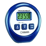 Control Company 5030 | Traceable® 24-Hour Memory Laboratory Digital Timer with Countdown Feature & Alarm, Up to 24 Hours, Dimensions: 2-3/8-Inch Diameter x 1/2-Inch Length
