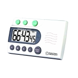 Control Company 5014 | Traceable® Extra-Extra-Loud Laboratory Digital Timer with Stopwatch & Clock, Range: 100 Hours, Dimensions: 4 x 2-1/2 x 1/2-Inch