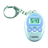 Control Company 5041 | Traceable® Key-Chain Digital Timer, Range: 1 Minute to 20 Hours, Dimensions: 2 x 1-1/2 x 3/4-Inch
