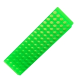 Bio Plas® 0071 | 80-Place Microcentrifuge Tube Rack for 1.5mL & 2.0mL Tubes, Length x Depth: 9 x 2.1-Inch, Fluorescent Green