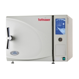 Tuttnauer 174 3850e Tabletop Digital Autoclave With 15 X 20