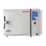Tuttnauer 3850E Tabletop Digital Autoclave with 15 x 20-Inch Chamber & Support Stand, Capacity: 65L, Digital Control & Display, 220V/2400W