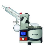 Heidolph 036000250 Hei-VAP Advantage Rotary Evaporator with G1B Safety Coated Diagonal Condenser, Hand Lift, Digital Control & LCD Display, 115V