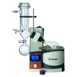 Heidolph 036000310 Hei-VAP Advantage Rotary Evaporator with G5B Safety Coated Dry Ice Condenser, Hand Lift, Digital Control & LCD Display, 115V