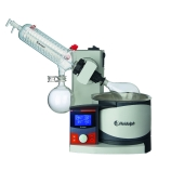 Heidolph 036000450 Hei-VAP Advantage Rotary Evaporator with G1B Safety Coated Diagonal Condenser, Motorized Lift, Process Timer, Digital Control & LCD Display, 115V