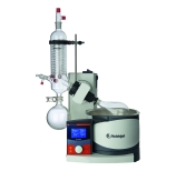 Heidolph 036000470 Hei-VAP Advantage Rotary Evaporator with G3B Safety Coated Vertical Condenser, Motorized Lift, Process Timer, Digital Control & LCD Display, 115V
