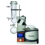 Heidolph 036000510 Hei-VAP Advantage Rotary Evaporator with G5B Safety Coated Dry Ice Condenser, Motorized Lift, Process Timer, Digital Control & LCD Display, 115V