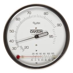 Oakton 174 Wd 03313 70 Wall Mountable Analog Hygrometer With