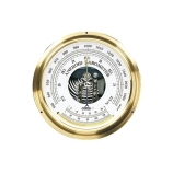 Oakton® WD-03316-72 Temperature Compensated Analog Barometer, Barometric Pressure Dual Range: 930 to 1070mbar/698 to 802mm Hg, Temperature Dual Range: -10 to 50°C/14 to 122°F, Diameter: 6.1-Inch