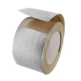 BriskHeat® AAT260 Adhesive Aluminum Tape for Heating Surface Contact Securement, Length x Width: 60yds x 2-Inch, Temperature Limit: 350°F (176°C)