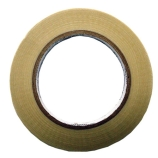 BriskHeat® PSAT36A Adhesive Fiberglass Insulation Tape, Roll Size: 0.5-Inch x 36-Yards, Exposure Limit: 350°F (176°C)