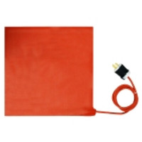 BriskHeat® SRP Flexible Silicone Heater Blankets for Plastic Surfaces