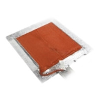 BriskHeat® SRP Flexible Silicone Heater Blankets with Adhesive for Plastic Surfaces