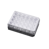 Falcon® (a Corning Brand) 353097 | 24-Well Translucent Cell Culture Inserts, 8m, Sterile, Case of 48