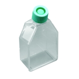 Argos Tissue Culture Flask - 250mL with Vented Polyethylene Cap with Hydrophobic Filter - Sterile with Treated Surface - Non-Pyrogenic (Case of 100)