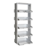 Argos R7503 Polycarbonate Cryogenic / Freezer Storage Rack Lab Towers for Microcentrifuge Tubes & Cryogenic Vials - 5 Level