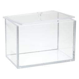 Bel Art 249830000 Beta Block Storage Box With Lid Clear Acrylic L X