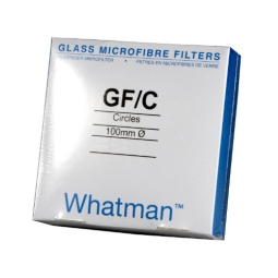Whatman™ 1822-125 Grade GF/C Glass Fiber Filter Paper without Binder, Diameter: 12.5cm, Pore Size: