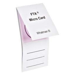 Whatman Wb120210 Fta Micro Card With 1 X 125 181 L Sample